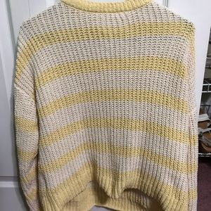Tilly's Yellow Knit Sweater
